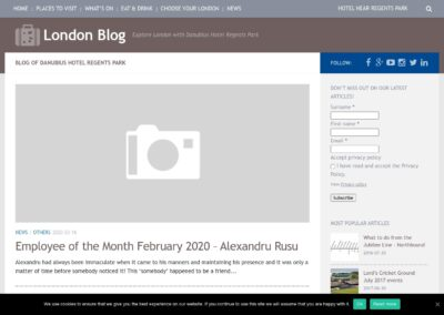 Danubius London Blog