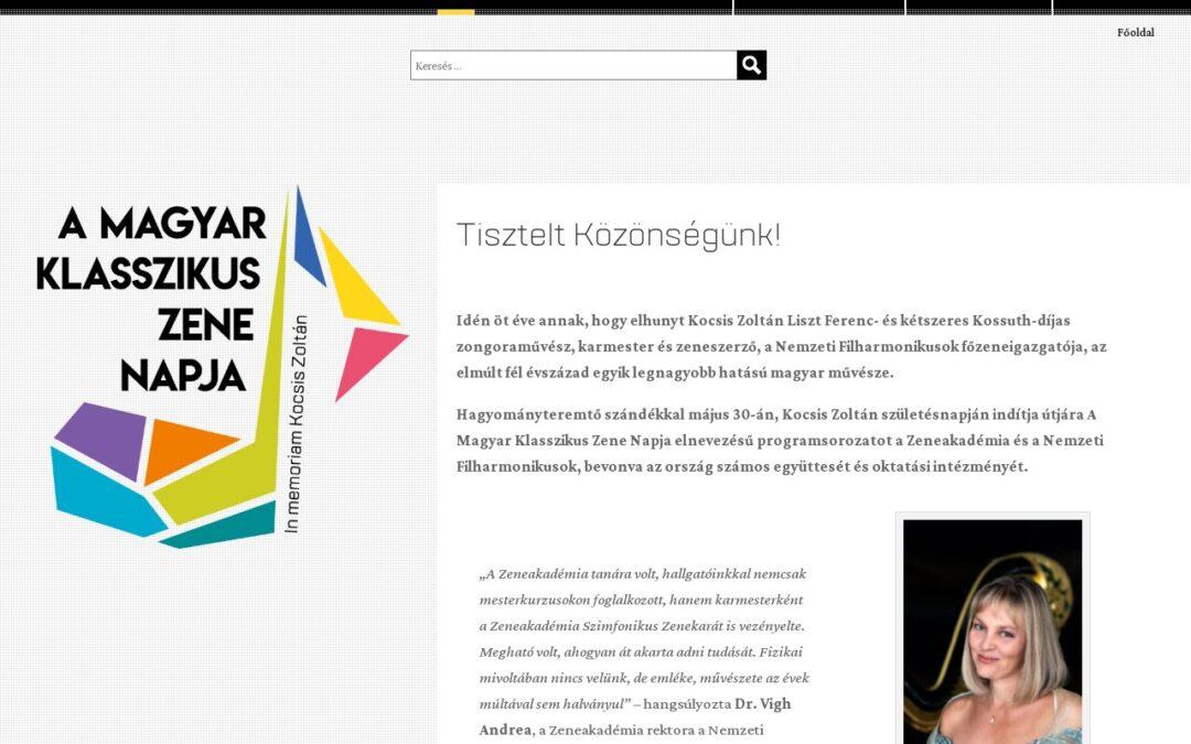 Magyar Klasszikus Zene Napja